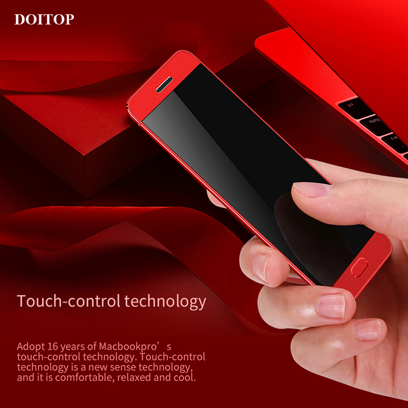 DOITOP 1.54 inch Ultra thin Cellphone Student Lady Children Bluetooth Mobilephone Mini Cellphone Stereo MP3 Music Player MP4