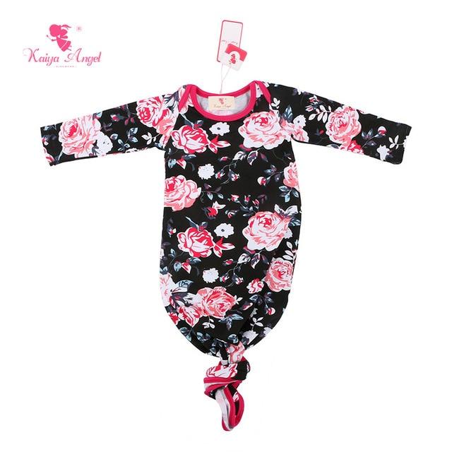 Kaiya Angel Baby Sleep Gown Black Pink Long Sleeve Hot Sale Infant ...