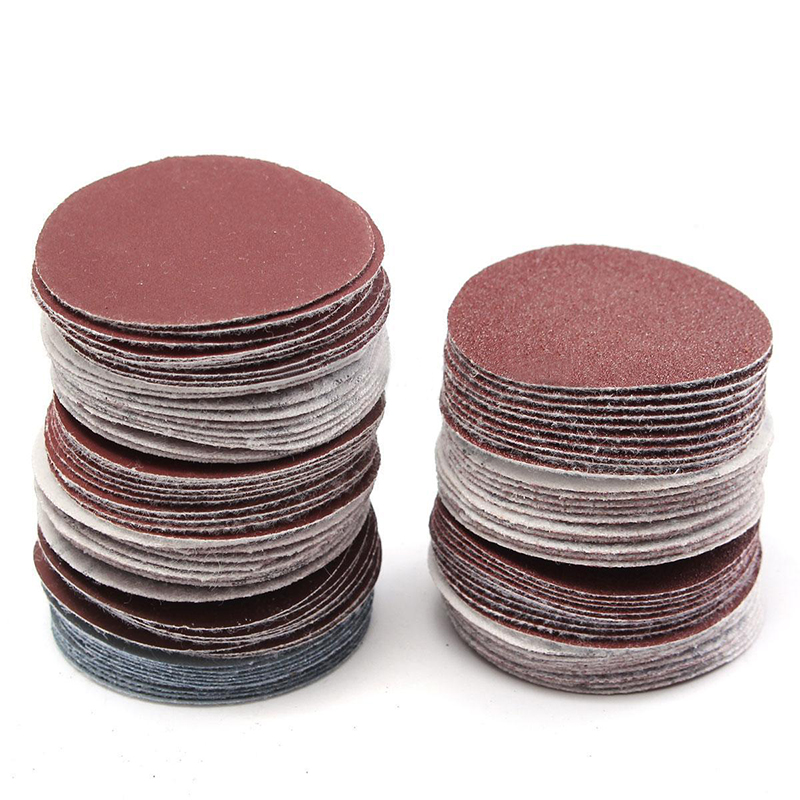 HHO-100pcs Abrasive Tools Sander Disc 50mm 2