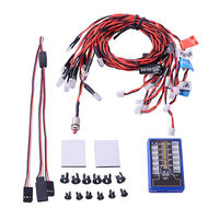 Highlight 12 LED Flashing Light System Kit Highlight For RC Car 1 10th Scale Drift Touring