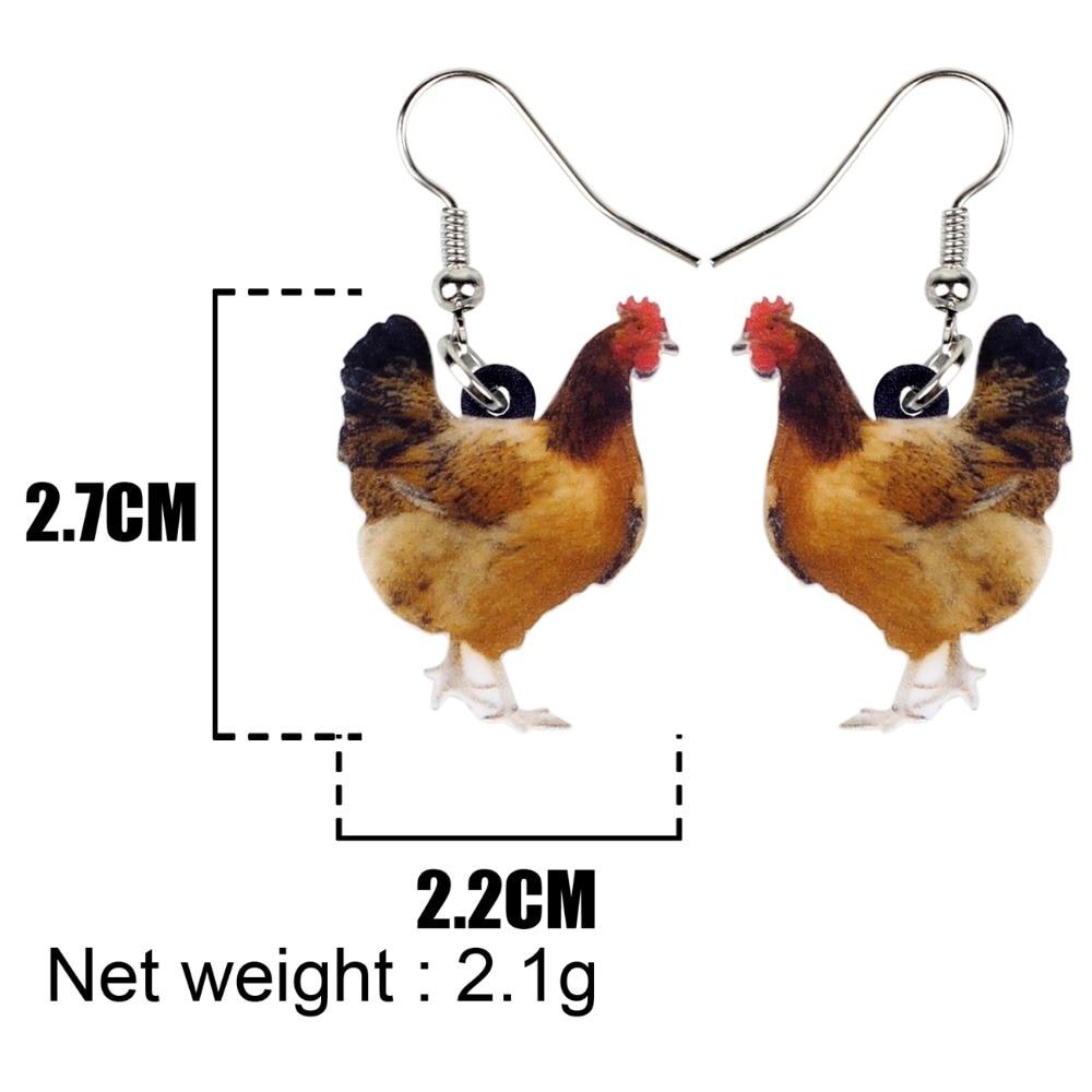 Hen Earrings 4