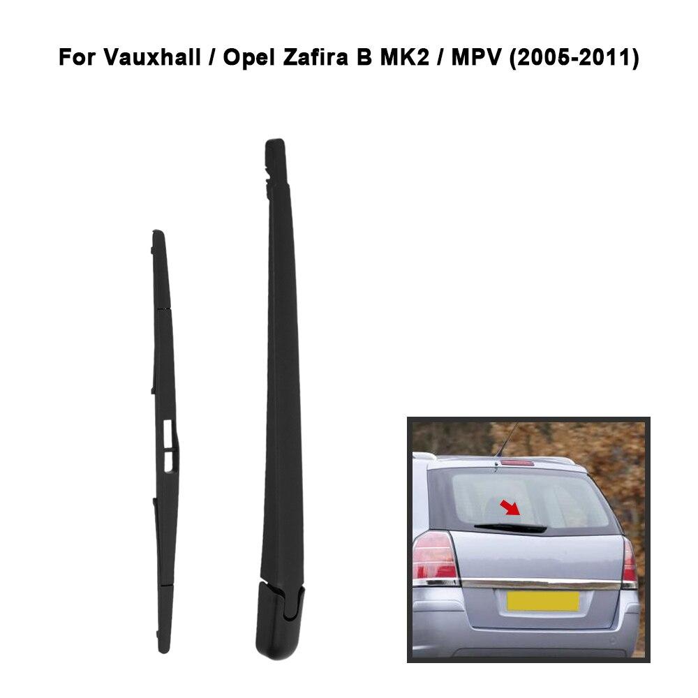 Prix pour KKmoon Voiture Arrière Fenêtre Pare-Brise Bras D'essuie-Glace Lame Remplacement Complet Set pour VAUXHALL OPEL ZAFIRA B MK2 MPV 2005-2011