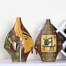 Европейский керамическая небольшое место Творческий свадебный подарок вино крыльцо украшения бытовых роспись керамики ремесленных орнамент