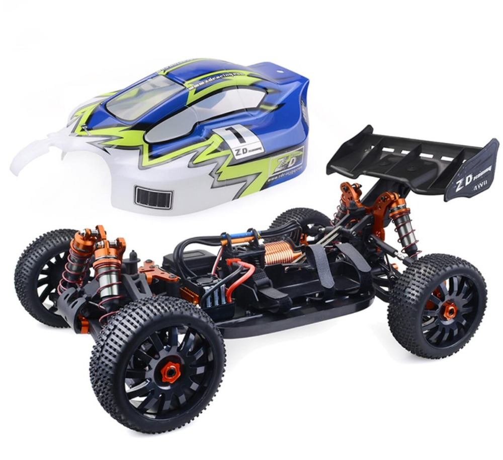 ZD Racing 9020 RC Cars 1/8 4WD 120A ESC 4274 Motor RC Brushless Buggy Without Battery Charger Off-Road Vehicle Modle RC Toy Boy