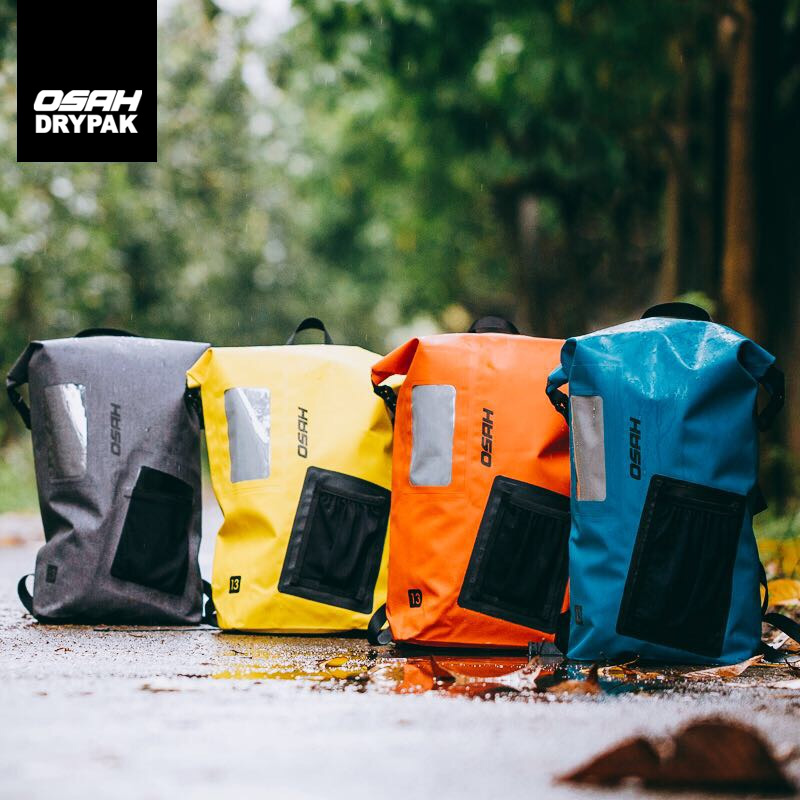 IPX6 sacs de Sport imperméables sac à dos pliable sac sec rafting kayak pêche sac de ski Camping cyclisme en plein air homme femmes sac de plage