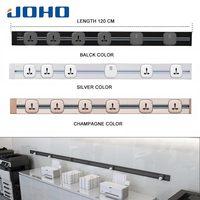 JOHO 120CM Rectangular Socket Electric Wall USB Charger Adapter EU Plug Socket Switch Power Charging Outlet Panel 250V