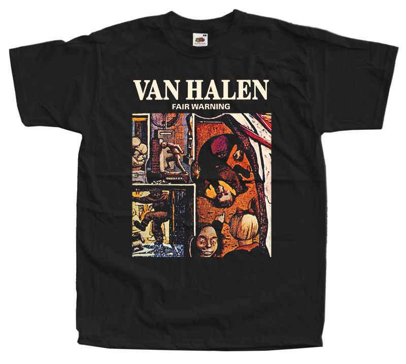 701731561 Detail Feedback Questions about VAN HALEN Fair Warning black t shirt ...