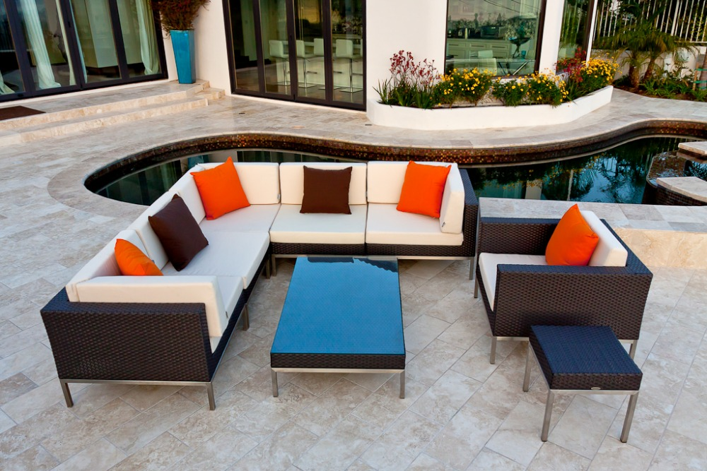 Garden Furniture All Weather high quality garden sofa sale promotion-shop for high quality