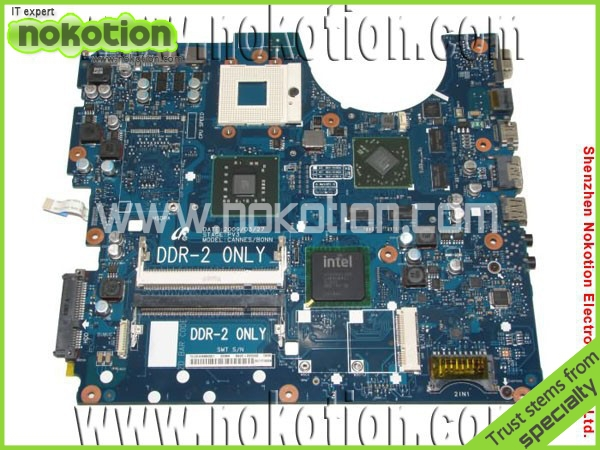 NOKOTION BA92-05556A Laptop Motherboard for Samsung R520 R522 R620 Intel PGA479 with ATI graphic chipset PM45 integrated DDR2 nokotion for acer aspire 5750 laptop motherboard p5we0 la 6901p mainboard mbrcg02005 mb rcg02 005 mother board