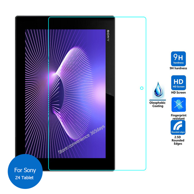 For Sony Xperia Z4 Tablet Tempered Glass Screen Protector 2.5 9h Safety Protective Film on SGP711 SGP712 SGP 711 712