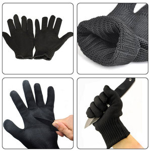 Image 4 - NMSafety 1 Pair Cut Proof Protect Stainless Steel Wire Safety Gloves Anti cutting breathable Work Gloves