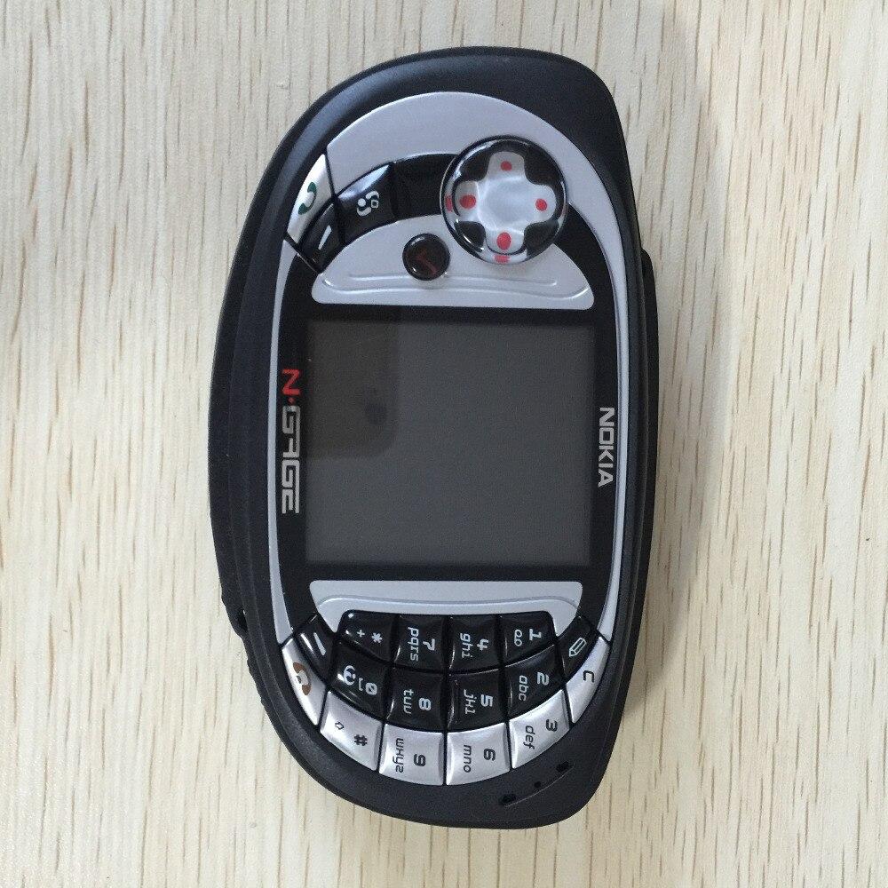 Original débloqué Nokia n-gage QD jeu téléphone portable bluetooth multilingue remis à neuf - 2