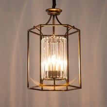 Simple fashion pendant lamp American LED lamps retro industrial pendant lights led lustre E14 light Pendant for AC 90–260V Loft