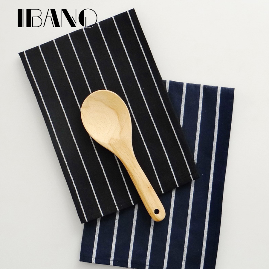 2pcs/lot Korea INS Style Cotton Table Napkin Dish Towel Cleaning Cloth40x60cm Tea Towel Printed durable pano de prato