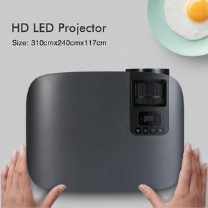 Image 2 - 70% OFF BYINTEK M7 LED  Full HD 1080P 3D 4K Home Theater Cinema Movie  Video Projector Projektor Beamer for Smartphone Tablet PC