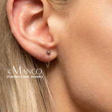 e-Manco Fashion DIY Chain jewerly making stainless steel earring Findings jewelry findings jewlery making