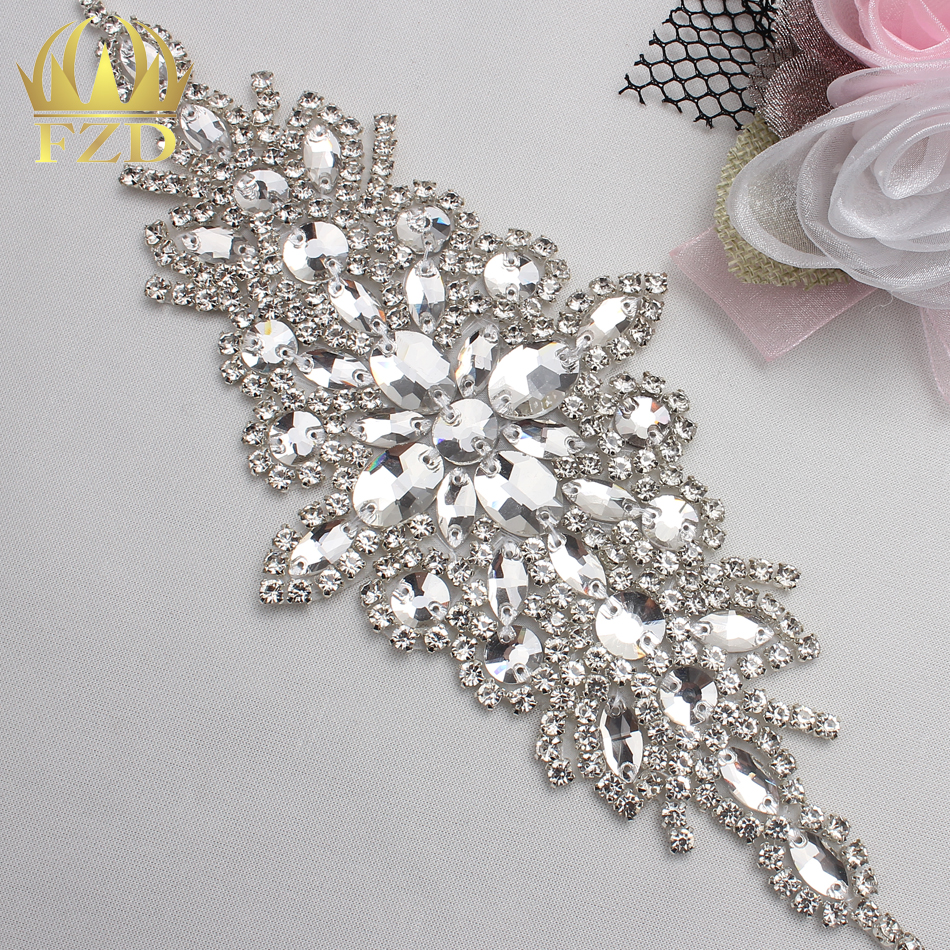 Buy 5pieces wholesale hot fix sew on for Wholesale wedding dress suppliers
