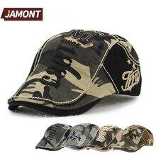 JAMONT Camouflage Cotton Beret Military Beret Sun Hat Casque