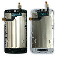 For LG L50 Sporty D213 D213N LCD Display touch Screen Digitizer black and white replacement for single SIM phone