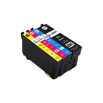 Einkshop T35 T35xl For Epson Pro WF-4740DT WF 4730DTW 4720DW 4725DW printer ink cartridge For Epson T3591 T3581 with ink