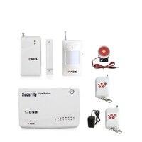 G62 Wireless Wired Phone SIM GSM Home Burglar Security GSM Alarm System English Russian Spansih Voice