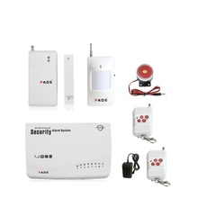 G62 Wireless/wired Phone SIM GSM Home Burglar Security GSM Alarm System English Russian Spansih Voice Prompt Alarm Sensor kit