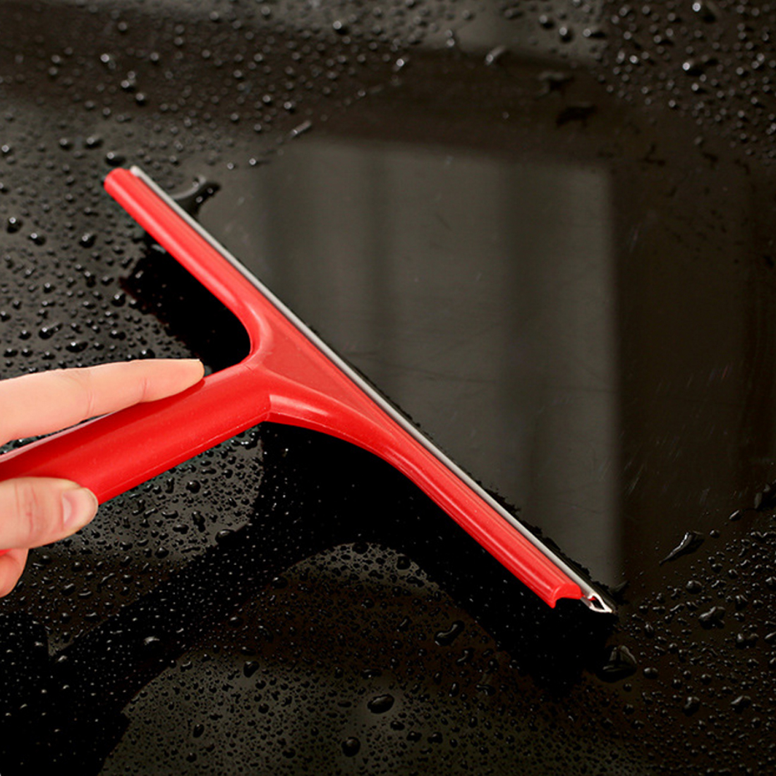 BU-Bauty New Arrival Car Silicone Water Wiper Soap Cleaner Scraper Blade Squeegee Car Windshield Window Cleaning Tool