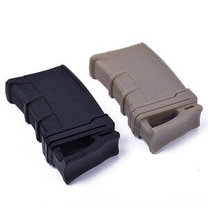 Image 2 - Taktische Jagd Schnelle Magazin Gummi Beutel Für M4/M16 Tasche Tasche 5,56 NATO Mag Pouch Tasche Wasser Pistole Patrone