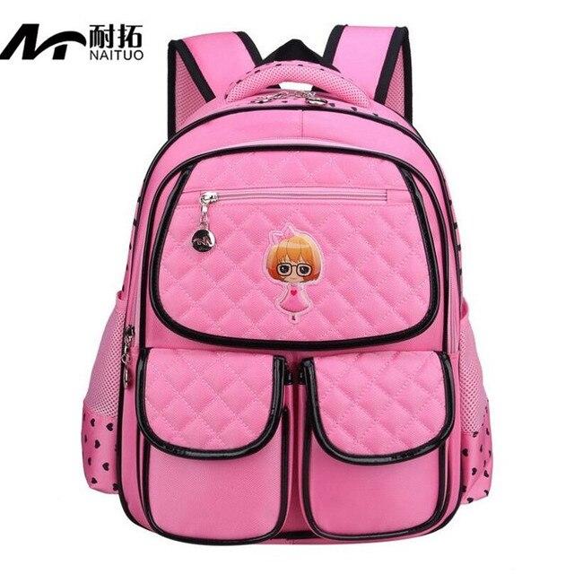 5dc5b1a673 New Cute Princess Backpacks Children School bag For Girl Backpack Kids Book School  Bags For Girls Schoolbag Mochilas