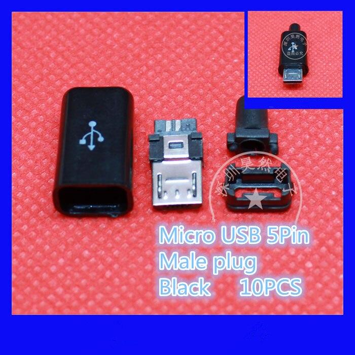10 шт./лот yt2153b микро-USB кабель 5pin