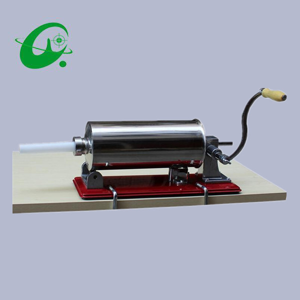 Stainless steel horizontal Sausage Stuffer Filler Machine Manual 3L household Manual enema machine Mini sausage filler amado barcelona джемпер amado barcelona 82066 400 115 коричневый