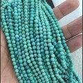 Genuine Natural Gems Pedra Verde Calaite Kallaite Turquesa Rodada Solta Pérolas Pérolas de Moda Jóias DIY Fit Colar Pulseira Fazer