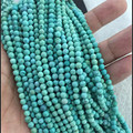 Genuine Natural Gems Stone Green Calaite Kallaite Turquoise Round Loose Beads Fashion Jewelry Fit DIY Bracelet Necklace Making