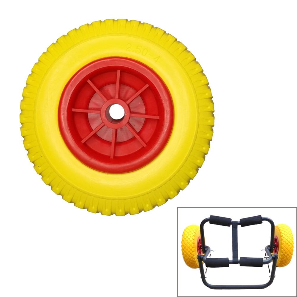 Kayak Carrier Trolley Trailer Transport Cart Wheel For Canoe Dragon Boat Wheel Replacement Kayak Car Rack Tires Dolly