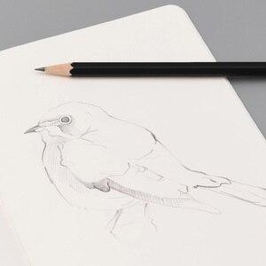 Image 5 - Kacogreen שמחה סקיצה ציור עיפרון חלק סט HB 2.2mm עבור אמן תלמיד