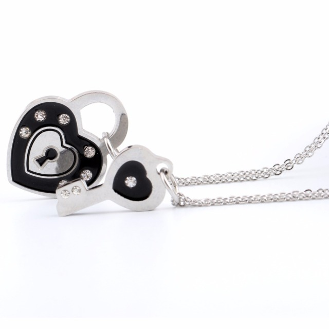 hearts necklaces product key locks and heart pendant lock necklace thomas small