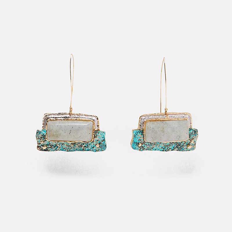 Miwens Za 30 Designs New Arrival Punk Boho Vintage Hoop Dangle Drop Earrings Women Lady Party Statement Jewelry Accessories A350