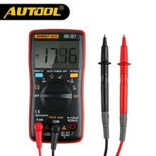 AUTOOL DM700 инструмент для диагностики электронной цепи портативный цифровой мультиметр AC/DC Амперметр Вольтметр измерения мультиметры