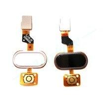 Оригинал Для MEIZU M3S Возвращает Клавиатуры Модуль Идентификации Отпечатков Пальцев Touch ID Sensor Главная Кнопка ОК Ключ Flex Ленточный Кабель