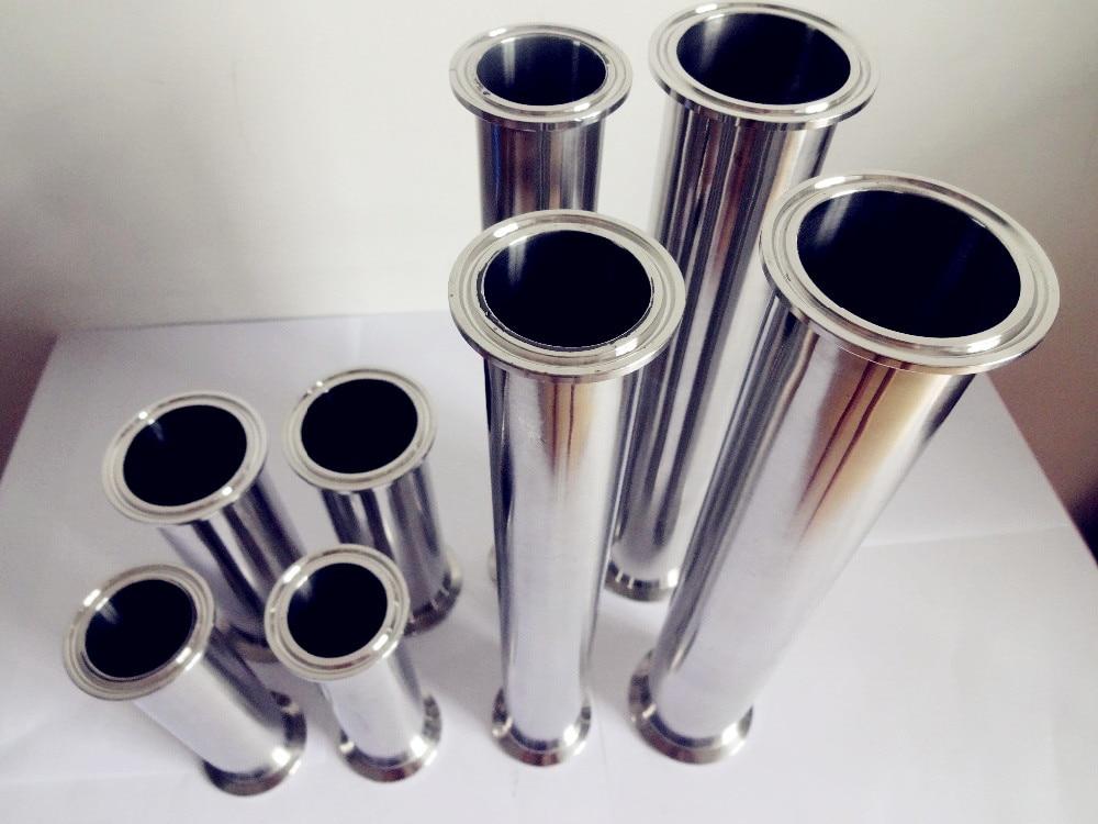 Frete Grátis Sanitária Aço Inoxidável 304 Tri-braçadeira Tubo Comprimento 20 500mm 4 102mm Od119mm