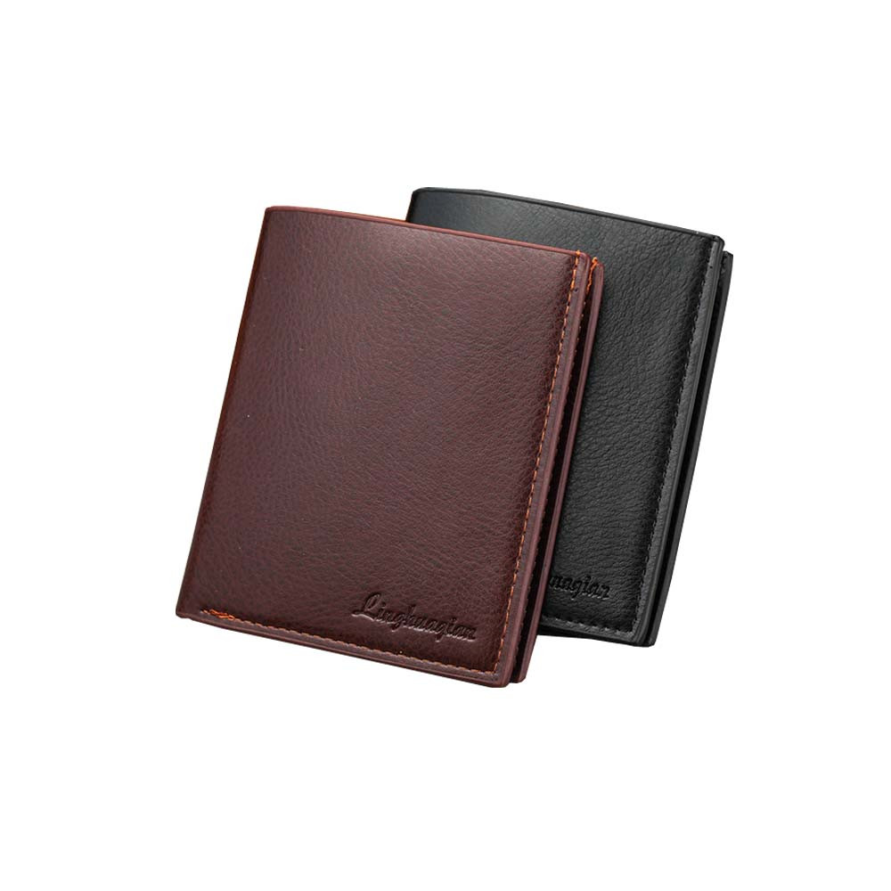 Wallets  Wallets: High quality Leather men's Wallets Wholesale purse leather SHORT leather wallets ,Best gift,  Free Shipping