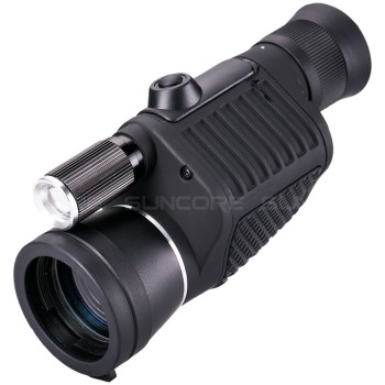Professional Monocular Zoom Vision 8x40 Focusing Telescope High-power HD Night Monocle Hunting Spyglass with Flashlight