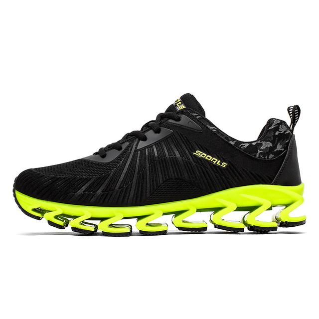b1c76ba9a6bf Men s Running Shoes Springblade Sneakers Cushioning Outdoor Sport Shoes for Men  Lightweight Athletic Shoes Male plus size 8057