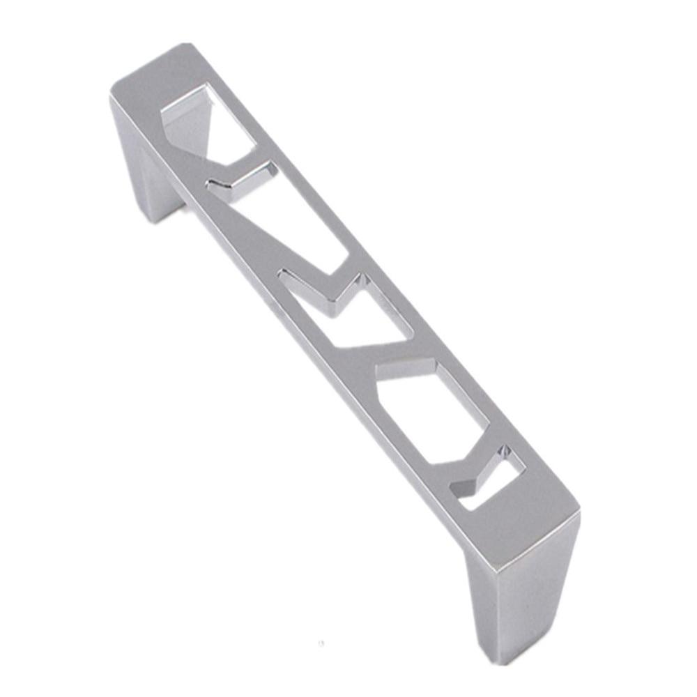 Handle Pierced Modern Zinc Alloy Drawer Cabinet Pull pierced