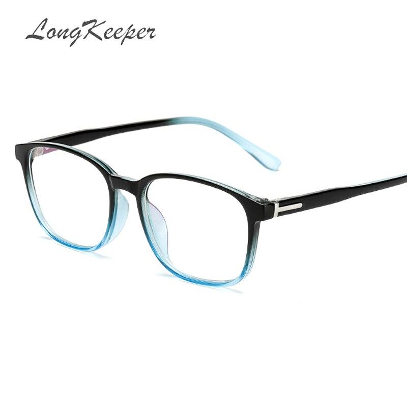 33b5b53416b Detail Feedback Questions about LongKeeper Brand Designer Retro Glasses  Frame Square Clear Lens Glasses Frame Black Floral Spectacle Eyeglasses  Frames 8094 ...