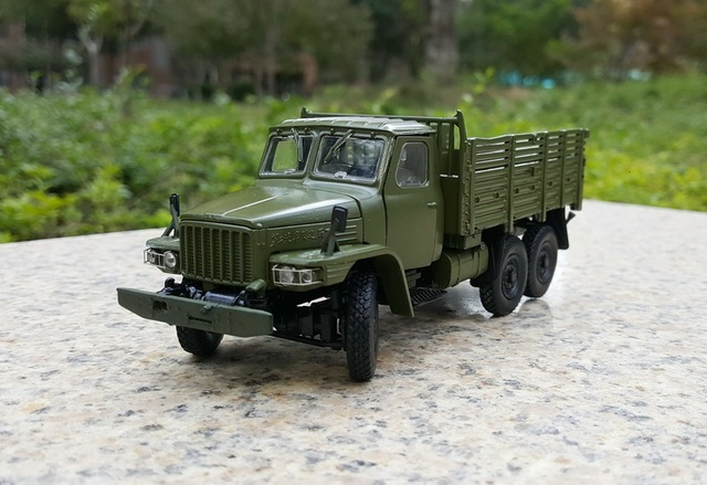 US $79 0 |Alloy Model Gift 1:43 Scale Dongfeng EQ240 Off road Military  Truck Vehicle Diecast Toy Model For Collection,Decoration-in Diecasts & Toy