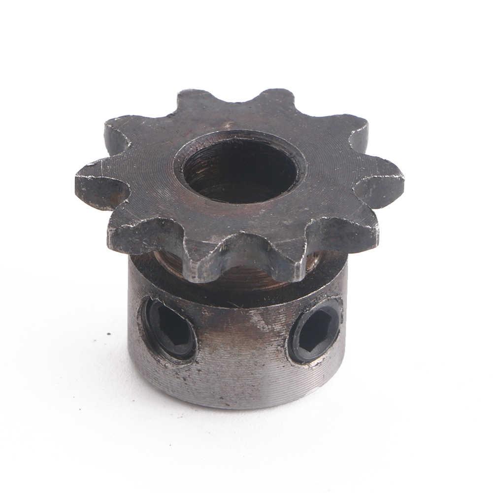 8mm otwór 10 T 10 zębów Metal Pilot przekładnia silnika rolki napęd łańcuchowy koło zębate nowy