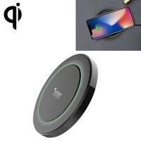TOTU Universal QI Wireless Charger Pad For IPhone X Samsung Smart Phone Standard Wireless Charger With