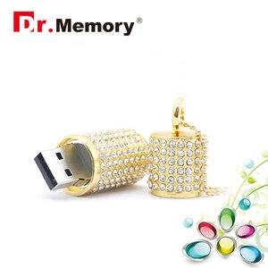 Image 4 - יוקרה Rhinestones יהלומי USB דיסק און קי זיכרון באיכות גבוהה מקל עמיד למים עט כונן 4G 8G 16G 32G 64G זיכרון U דיסק פלאש