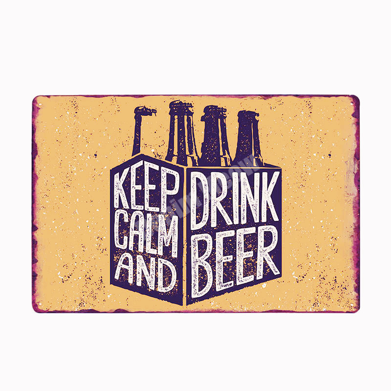 2 Sizes Available ideal for pub Man Cave Keep Calm and Drink Smirnoff Sign